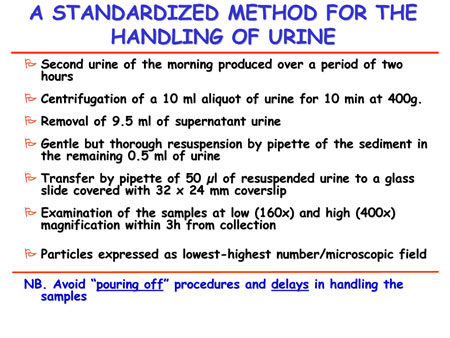 a Standardized Method For